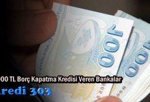 20.000 tl Borç Kapatma kredisi