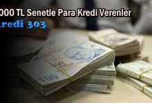 7.000 TL Senetle Para Kredi Verenler