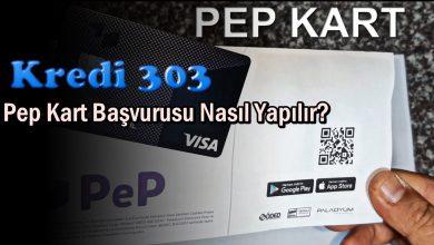 Pep Kart Başvurusu Nasıl Yapılır?